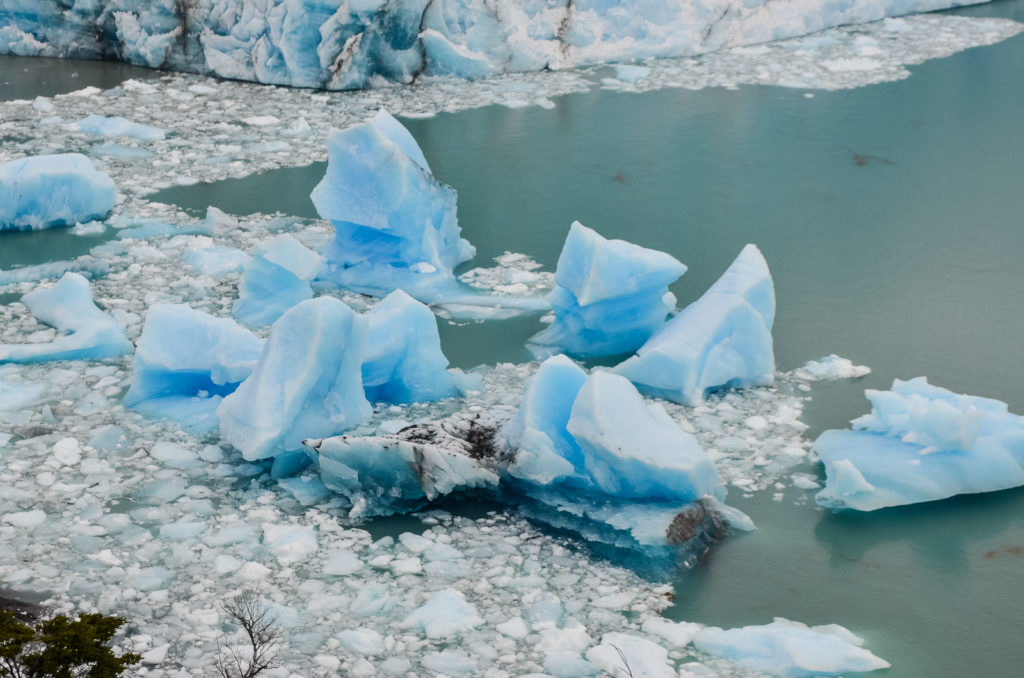 Témpanos en Lago Argentino