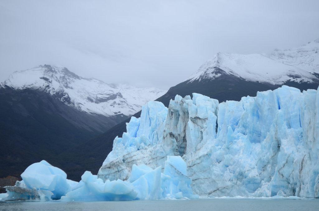 Vistas desde el Safari Nautico al Glaciar