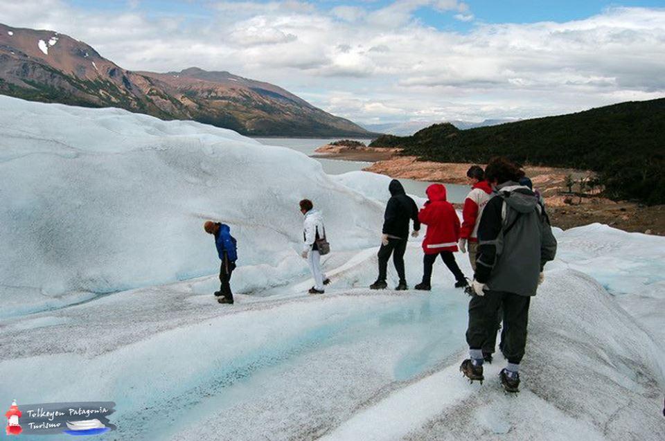 Mini Trekking Glaciar Perito Moreno Tolkeyen Patagonia Turismo