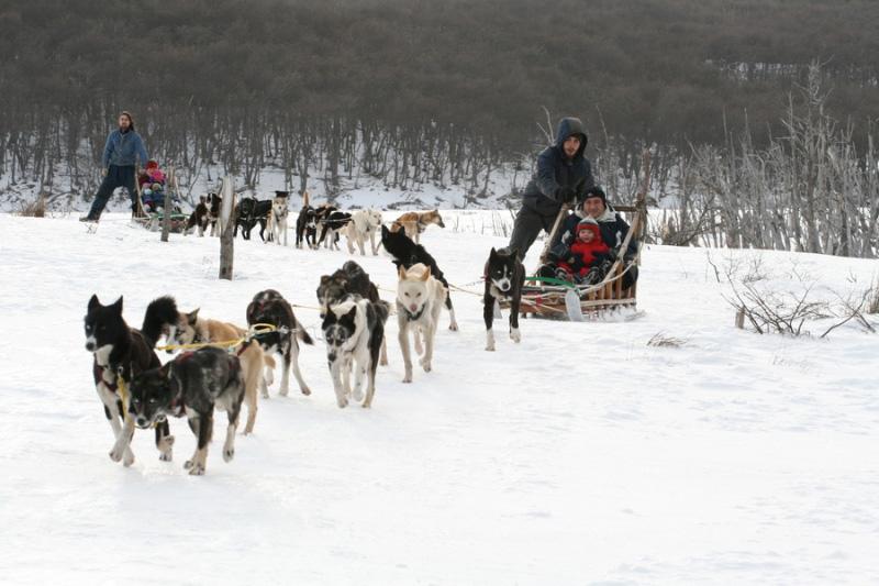 Invierno en Ushuaia